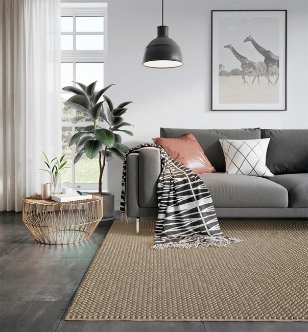 trendy w aranżacji wnętrz - dywan handmade fargotex